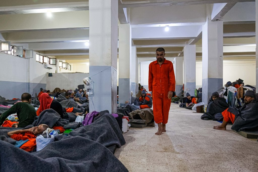 Inside the world's largest ISIS prison